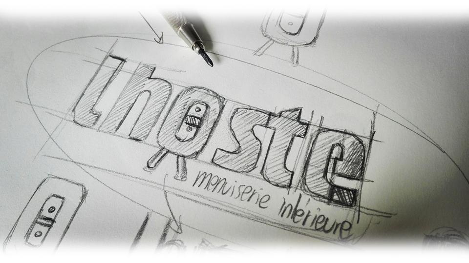 Création de logo | Menuiserie Lhoste