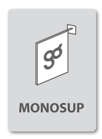 enseigne commerciale monosup
