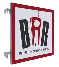 enseigne simply bar