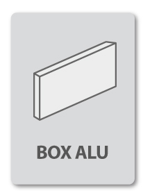 enseigne commerciale box alu