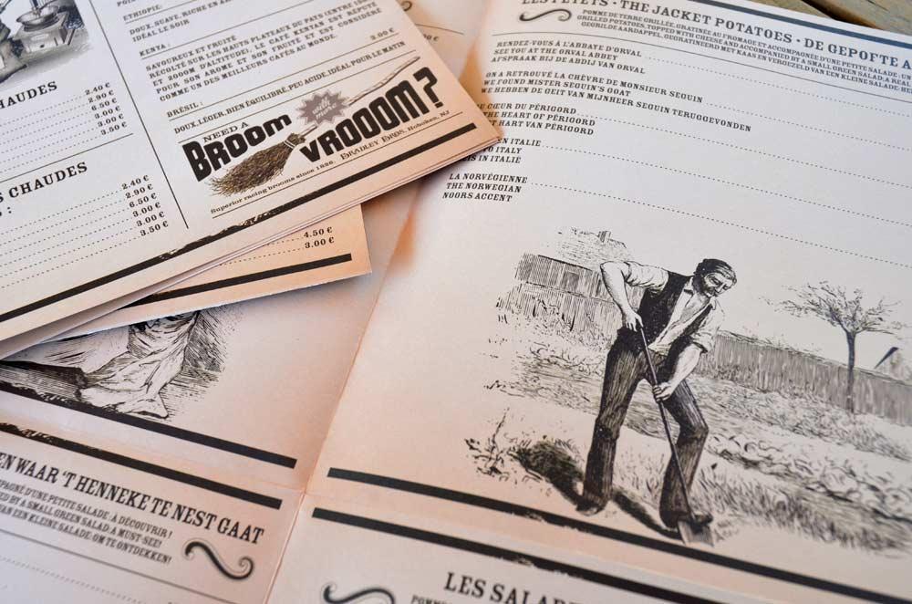 menu brasserie