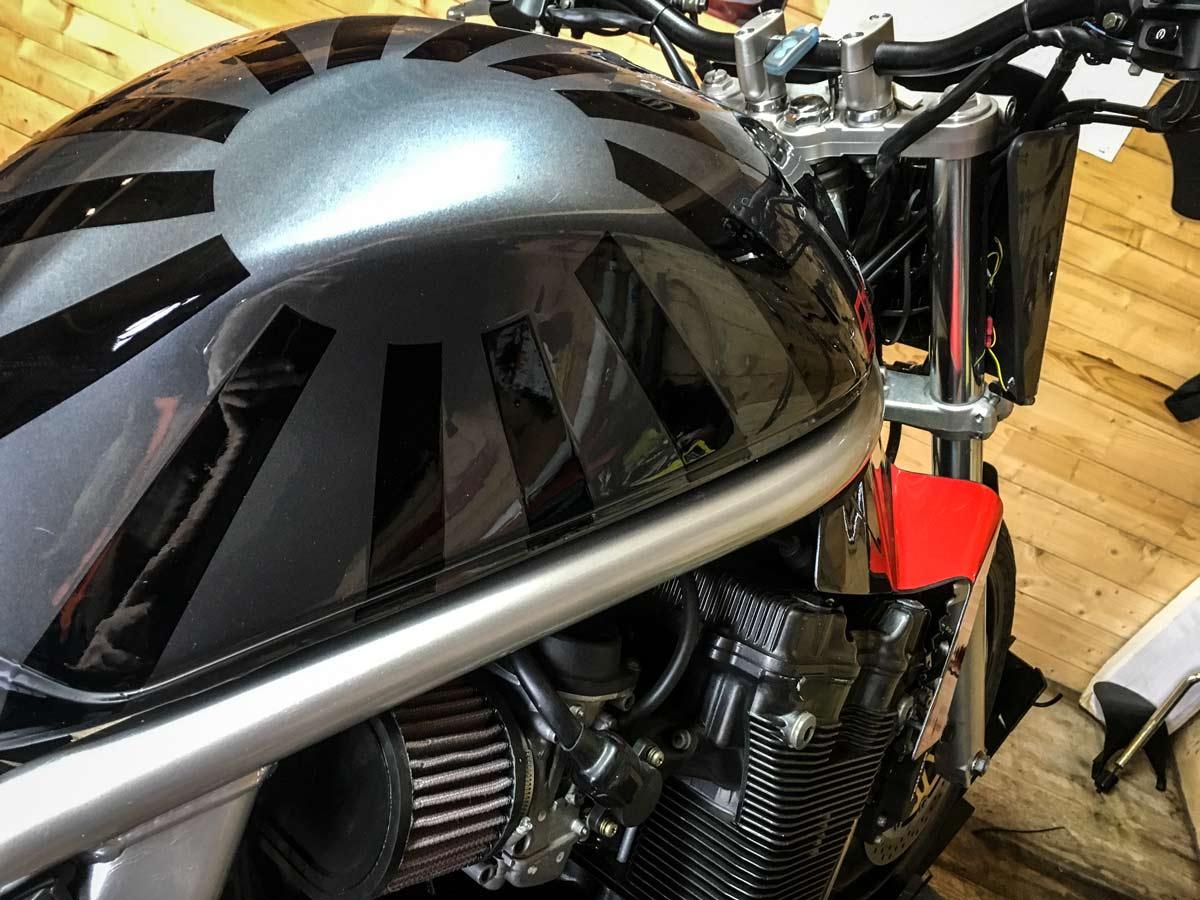 Lettrage Moto Custom suzuki Bandit 1200